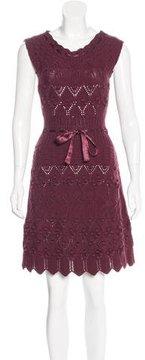 Christian Dior A-Line Wool Dress
