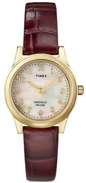 Timex Women's Leather Watch - T21693