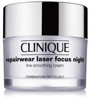 Clinique Repairwear Laser Focus Night Line Smoothing Cream - Combination Oily to Oily/1.7 oz.