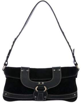 Tod's Leather & Suede Shoulder Bag