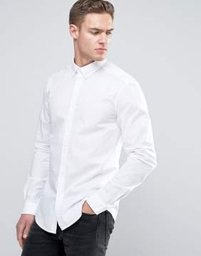 Esprit Stretch Slim Fit Cotton Poplin Shirt