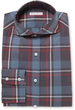 Michael Bastian Men's Check Club Sportshirt