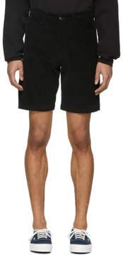 Noon Goons Black Corduroy Club Shorts