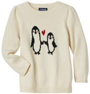 Chaps Girls 4-6x Penguin Sweater