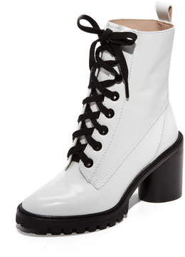 Marc Jacobs Ryder Lace Up Ankle Boots