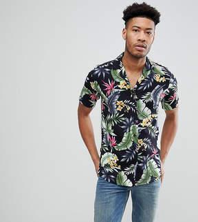 Le Breve TALL Revere Collar Shirt