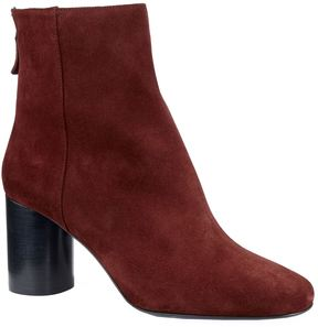 Sandro Suede Heeled Ankle Boots
