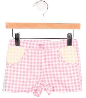 Agatha Ruiz De La Prada Girls' Gingham Heart Shorts