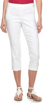 Elle Women's Pull-On Capri Pants