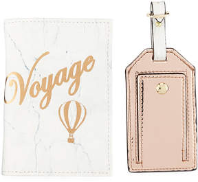 Neiman Marcus Voyage Passport and Luggage Tag Set