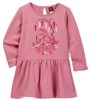 Tea Collection Momo Embroidered Dress (Toddler, Little Girls, & Big Girls)