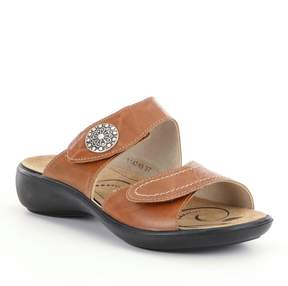 Romika Ibiza 64 Leather Slide-On Sandals