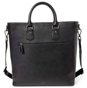 Ralph Lauren Pebbled Leather Tote Black One Size