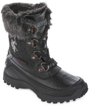 U.S. Polo Assn. Wanted Canyon Knee-High Riding Boots