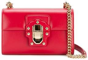 Dolce & Gabbana Mini Red Lucia messenger bag - RED - STYLE