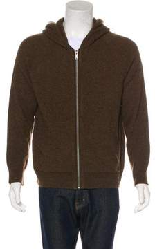 Haider Ackermann Wool & Cashmere Zip Sweater