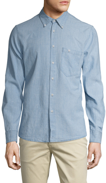 Nudie Jeans Men's Stanley Button-Down Sportshirt