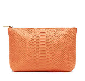 Cuyana Medium Leather Zipper Pouch