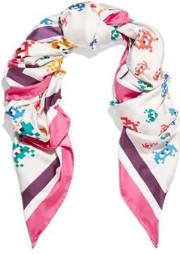 Anya Hindmarch Printed Silk-Twill Scarf