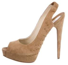 Brian Atwood Ambrose 140 Suede Pumps