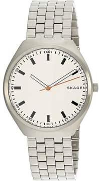 Skagen Men's Grenen SKW6388 Silver Stainless-Steel Japanese Quartz Fashion Watch
