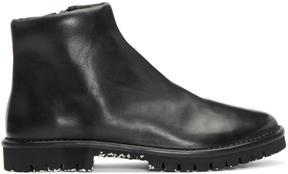 Marsèll Black Zip Boots
