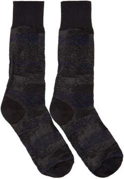 Issey Miyake Black Sand Socks