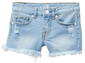 7 For All Mankind Frayed Shorts (Big Girls)