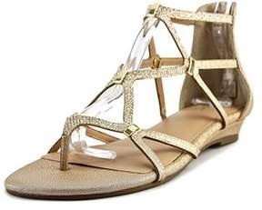 Thalia Sodi Pamela Open Toe Canvas Gladiator Sandal.
