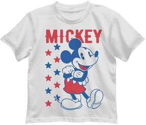 Disney Disney's Mickey Mouse Toddler Boy Patriotic Graphic Tee