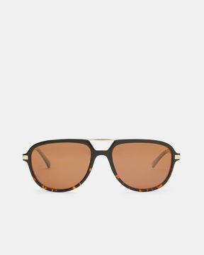 Ted Baker Metal detail pilot sunglasses