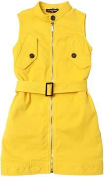 DSQUARED2 Stretch Light Cotton Gabardine Dress