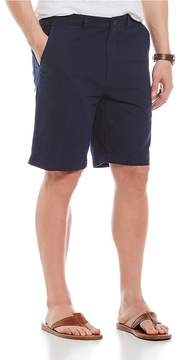 Roundtree & Yorke Big & Tall Solid Seersucker Shorts