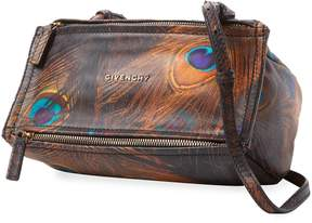 Givenchy Women's Pandora Printed Leather Satchel