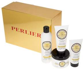 Perlier Shea Citrus 4-piece Kit with Gift Box