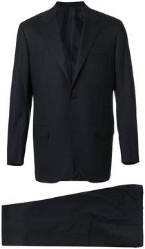 Kiton straight-fit suit