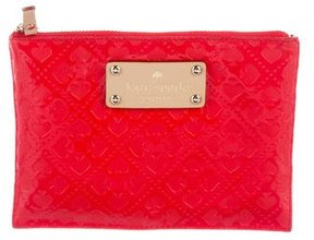 Kate Spade Emerald Avenue Mini Pouch w/ Tags - RED - STYLE