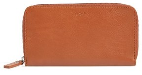 Women's Shinola Signature Lea Leather Continental Wallet - Brown