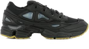 Adidas By Raf Simons Black Leather Ozweego Iii Sneakers