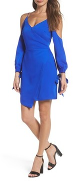Adelyn Rae Women's Amelia Cold Shoulder Sheath Dress