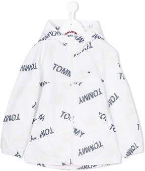 Tommy Hilfiger Junior all-over logo print jacket