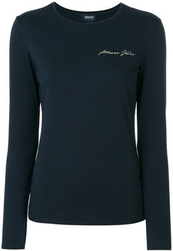 Armani Jeans long-sleeved top