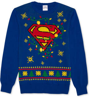 Hybrid Men's Superman Holiday Sweater