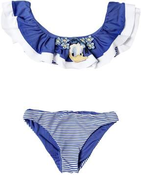 MonnaLisa Donald Duck Ruffled Lycra Bikini