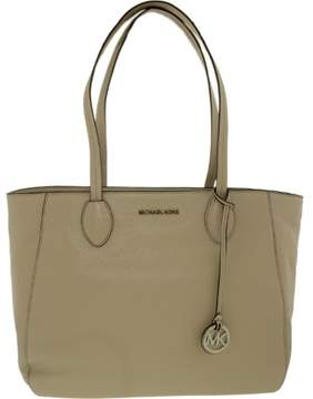 Michael Kors Women's Ani Large Leather Leather Top-Handle Tote - Cement - CEMENT - STYLE