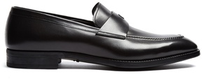Giorgio Armani Penny leather loafers