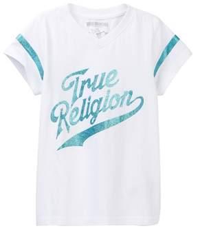 True Religion V-Neck Tee (Big Girls)