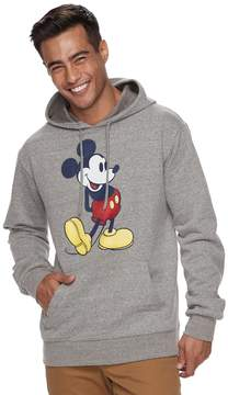 Disney Men's Mickey Mouse Pull-Over Hoodie