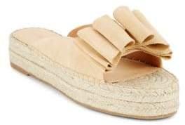 Sigerson Morrison Verane Leather Platform Sandals