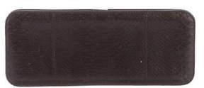 Jil Sander Embossed Leather Clutch